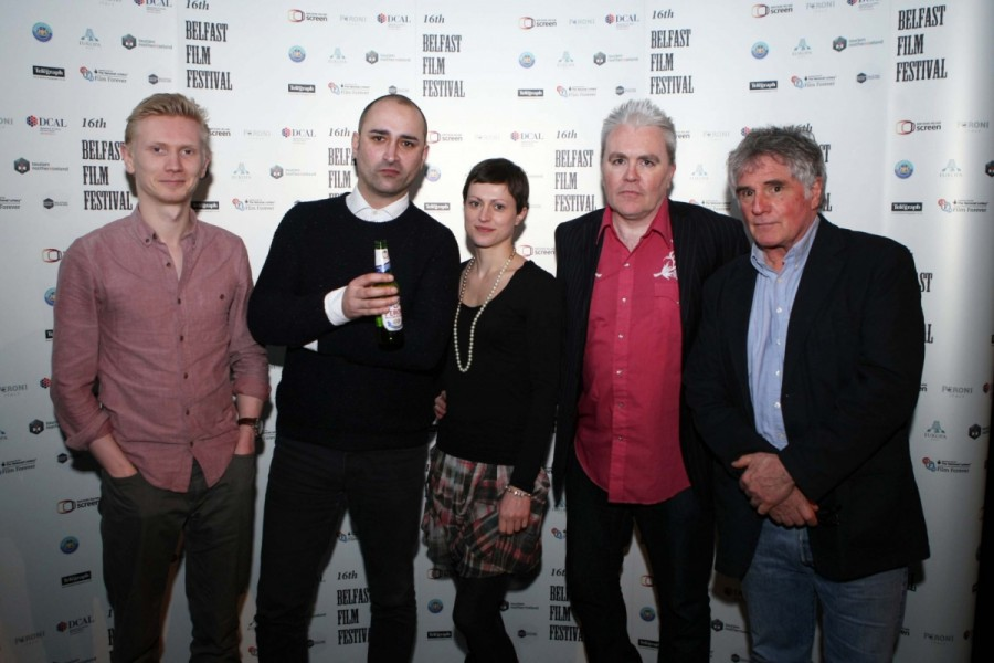 Adam Turms, Joe Nawaz, Sara Dylan, John Higgins and Nick Hardin.