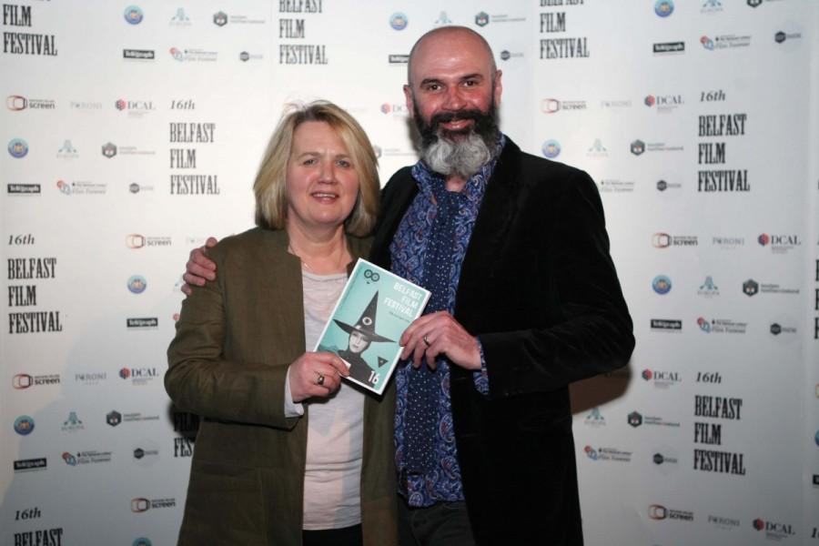 ÊFestival Director Michele Devlin and Joe Lindsay.