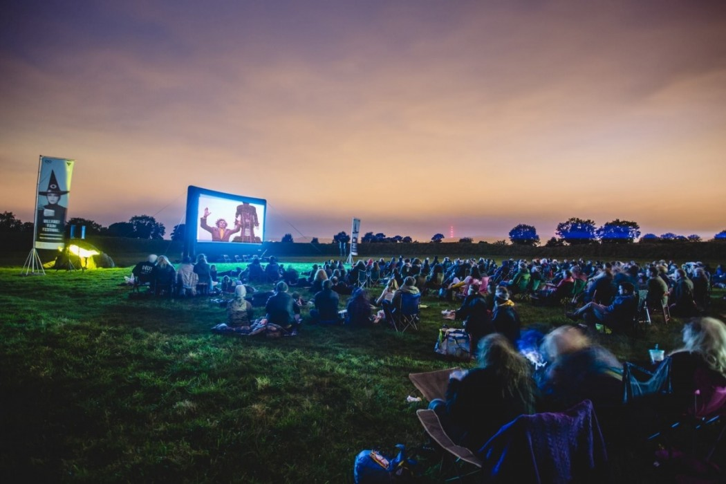Belfast Film Festival's outdoor screening of The Wicker Man at the Giant's Ring