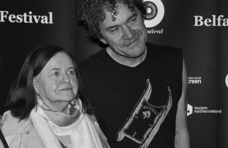 Bernadette McAliskey and Mark Cousins